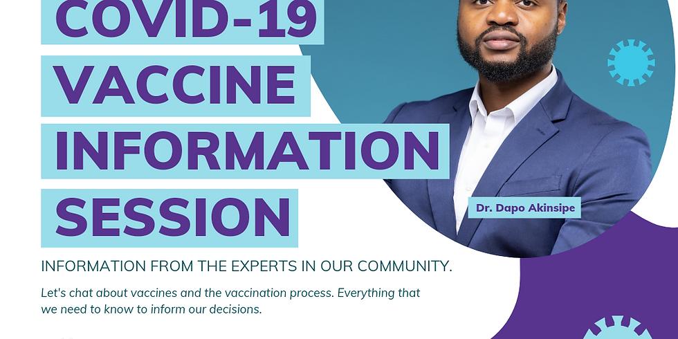 COVID-19 Vaccine Information Session