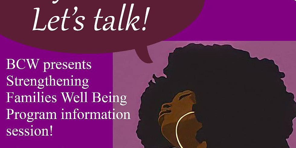 Hey Sisters Let's Talk Event