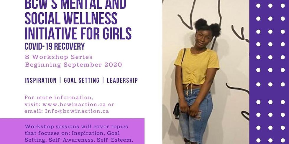 BCW'S Mental & Social Wellness Initiative for Girls