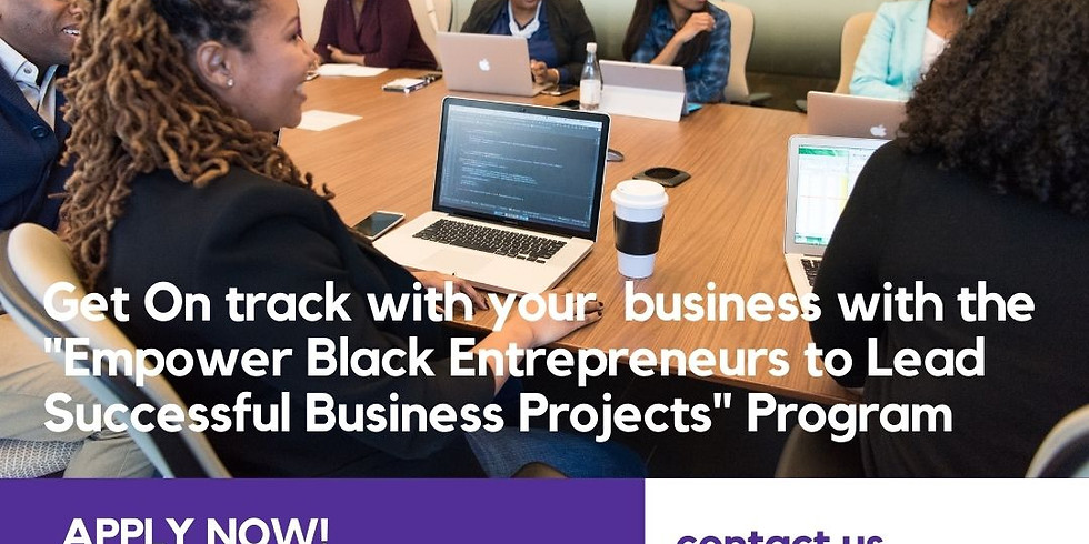 """BCW COVID Recovery: """"Empowering Black Entrepreneurs to Lead Successful Businesses"""" Program"""