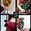 Thumbnail: Hochwertige Edelstahlrose in Schwarz