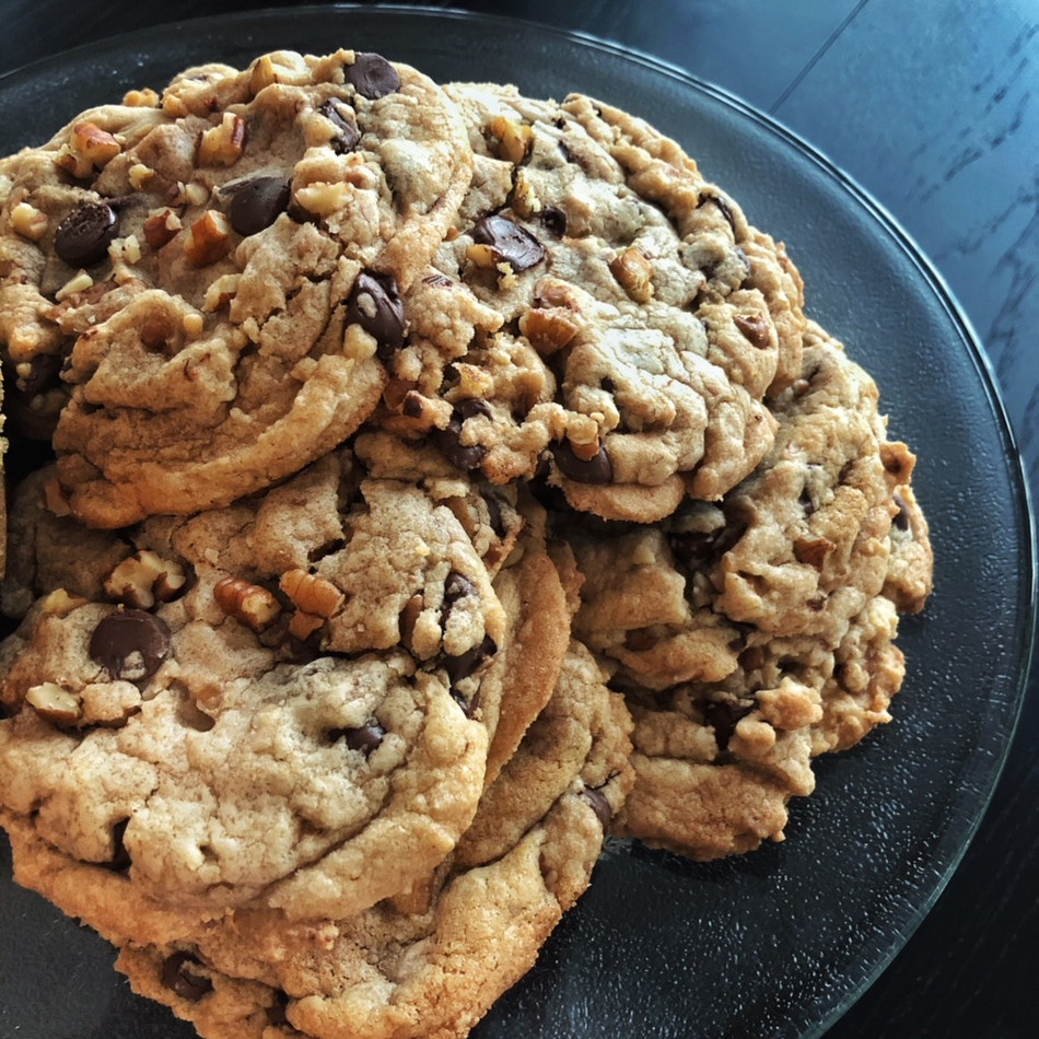 Making Brown Butter Pecan Chocolate Chip Cookies