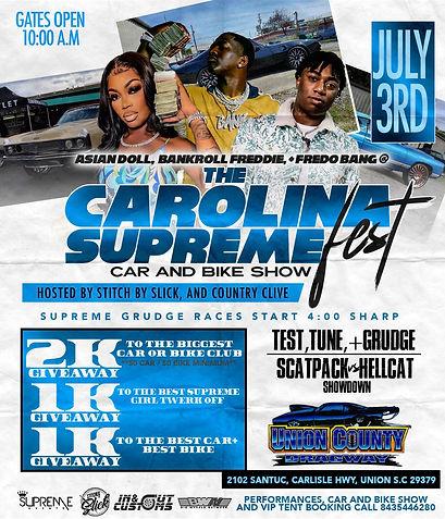 Carolina Supreme Car and Bike Show - Supreme Events LLC