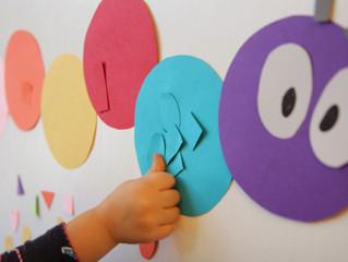 Παιχνίδια ενίσχυσης της οπτικής και ακουστικής αντίληψης.