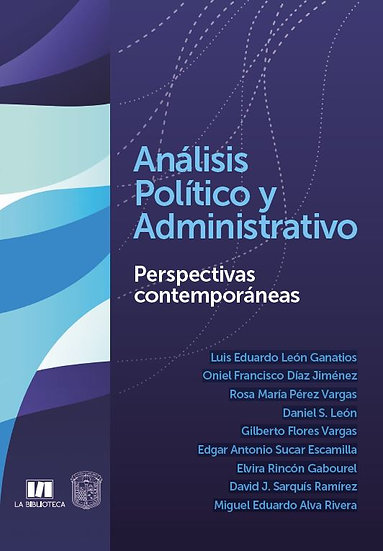 Análisis político y administrativo. Perspectivas contemporáneas