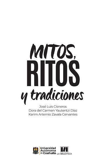 Mitos, ritos y tradiciones