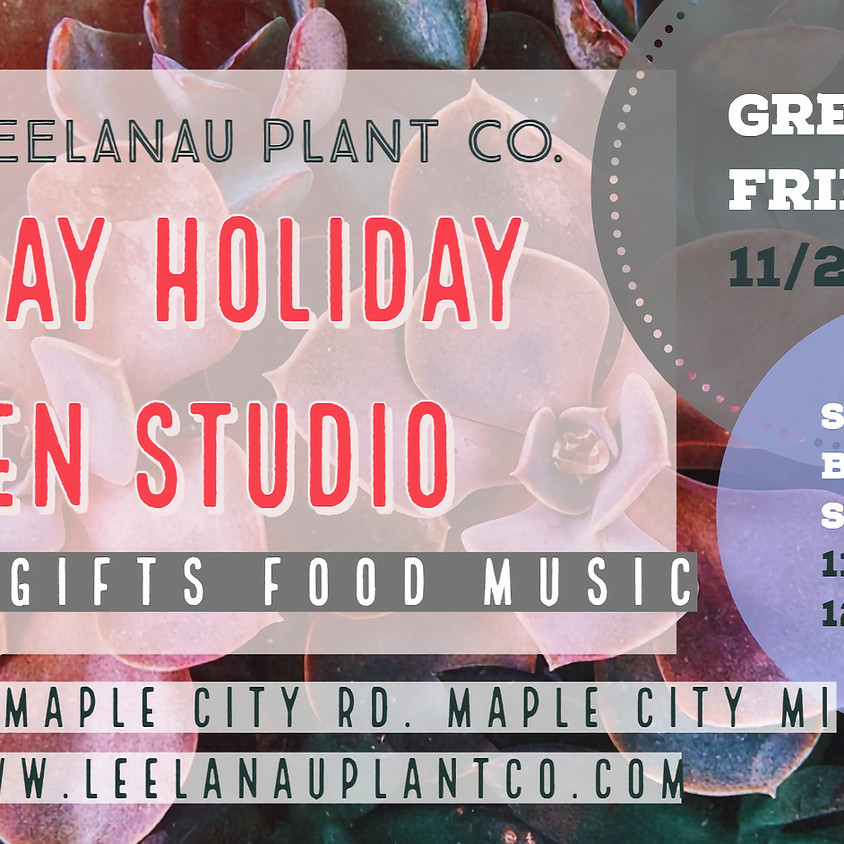 2 Day Open Studio Holiday Event