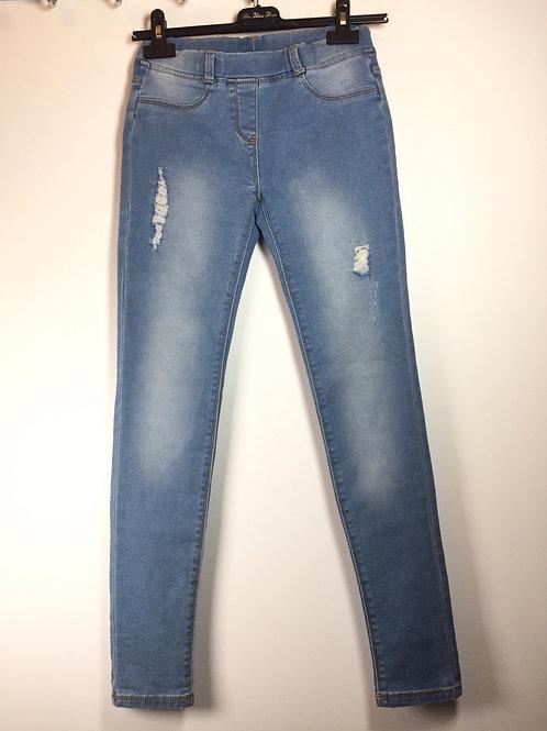 Jeans legging fille T14A TAO - 12325