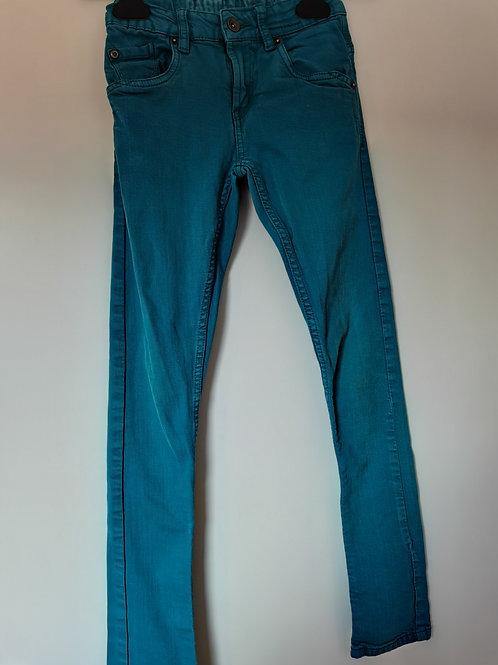 Pantalon fille T10A Garcia Jeans turquoise - 12467