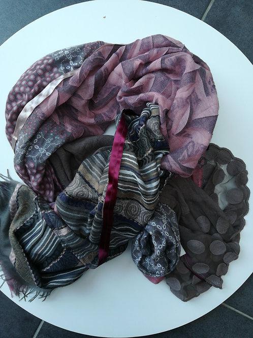 Grand foulard femme  Jade et Clarisse - 11084