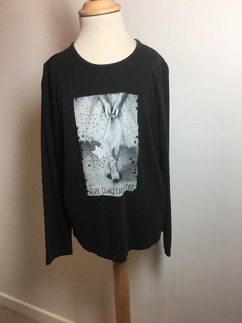 T- shirt fille T10A  IKKs - 10966