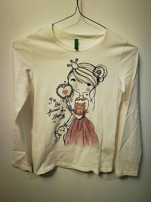 T-shirt fille T10A T9A - Benetton 12750