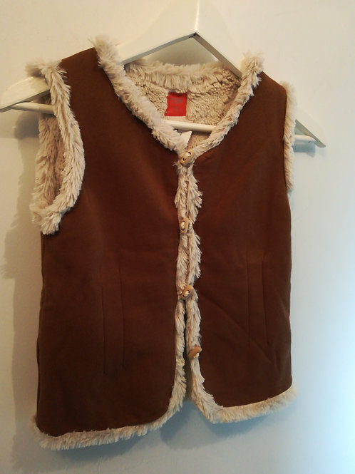 Gilet sans manches fille T12A TEN - 12005