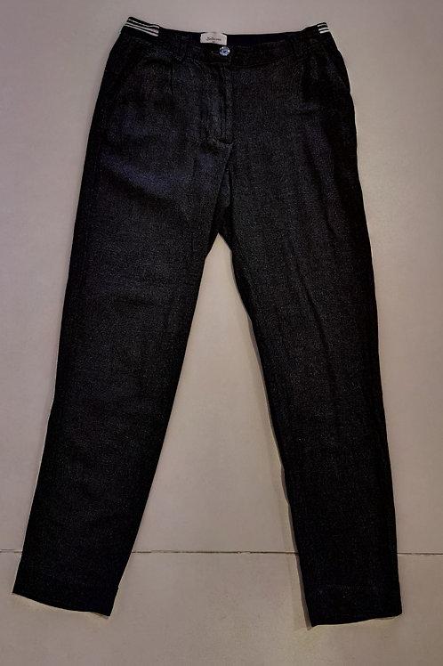 Pantalon fille T12A Bellerose gris chiné - 10504
