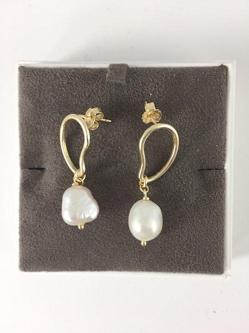 Boucles d'oreilles neuves Mango - 12124