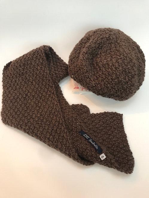 Bonnet écharpe fille  T10/ 12A LiliGaufrette - 12147