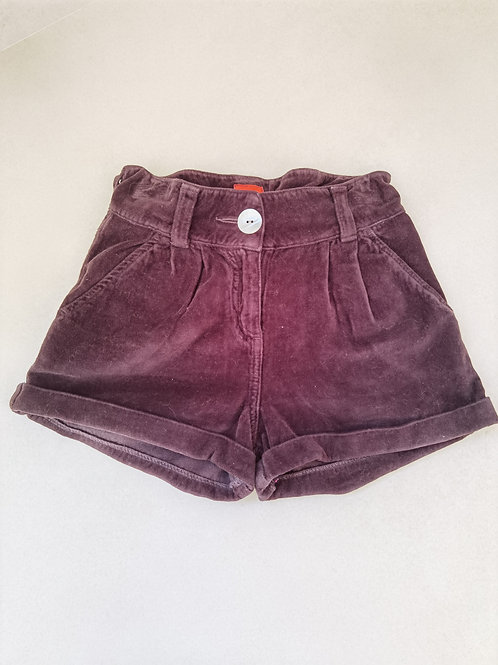 Short fille T10A TEN brun foncé - 12010