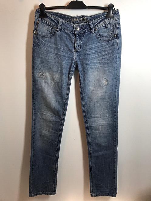 Jeans femme T40 - Jeans femme TL Lola&Liza - 12202