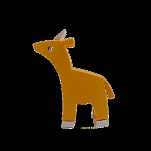 Halftoys Magnetic Animal Blocks - Impala