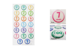 Numbers NLB Sticker