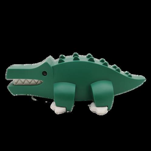 Halftoys Magnetic Animal Blocks - Crocodile