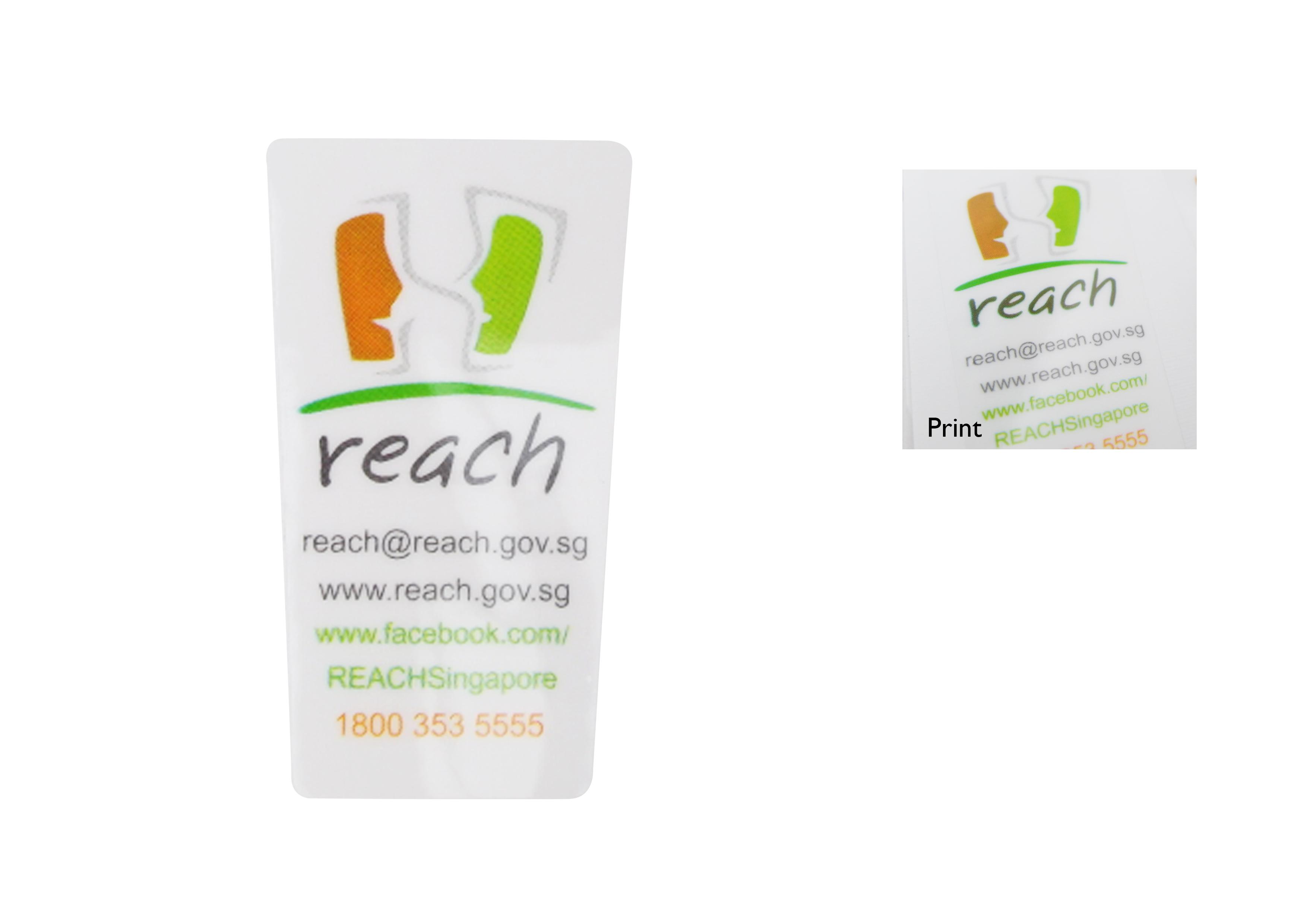reach stickers