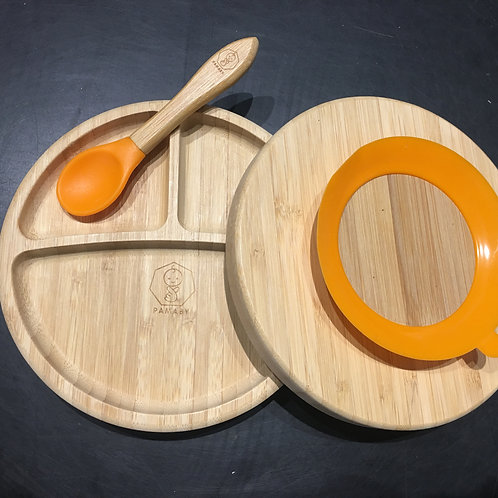 Bamboo Plate Set by PAMABY™