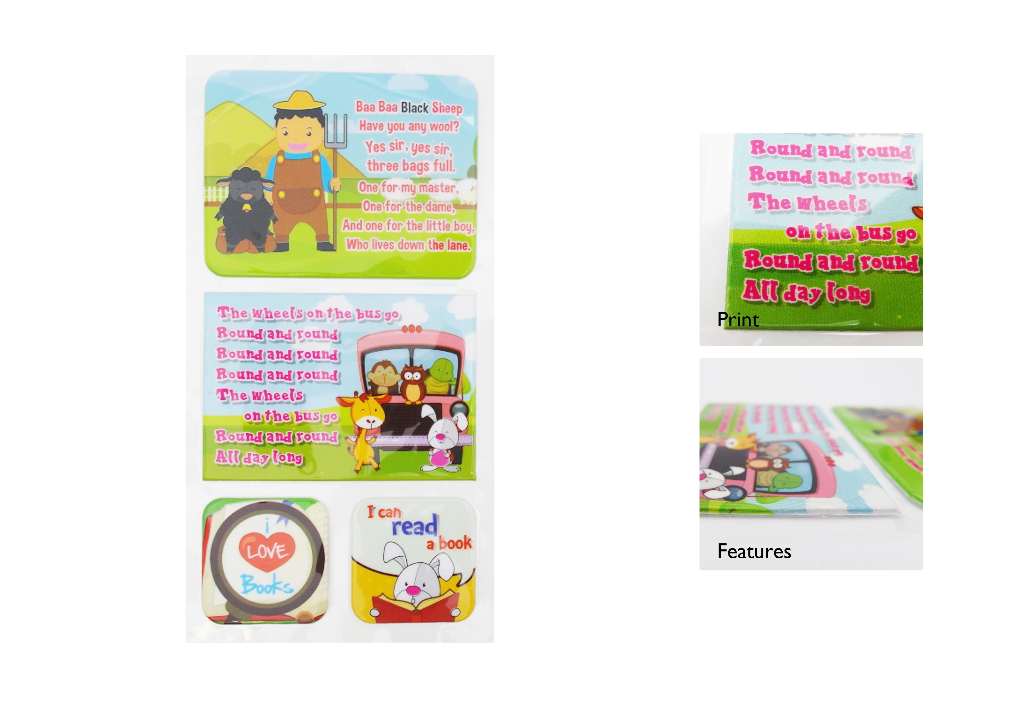 Children Story NLB Sticker