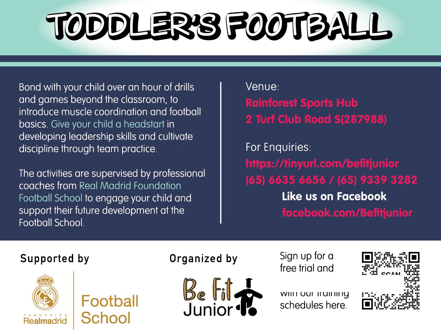 BFJ Toddler's Football Programme