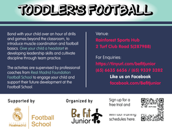 BFJ Toddler's Football Programme