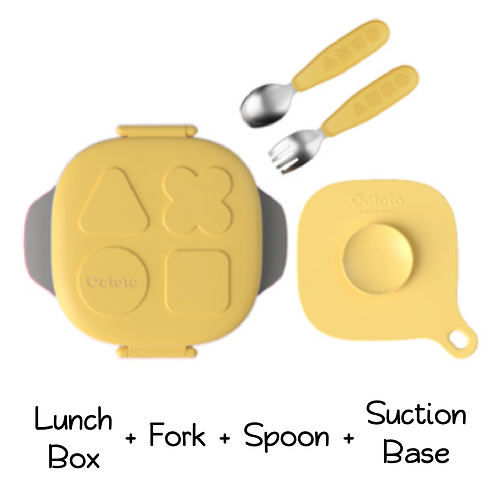 Octoto Lunch Box with Suction Base