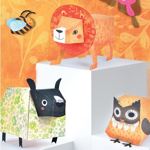 Mideer Origami Paper Animals