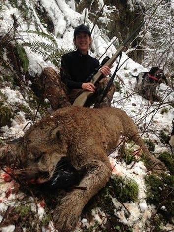 Woman kills mountain lion