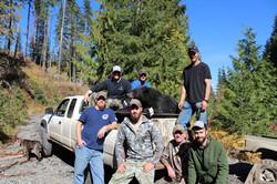 Group with Black Bear harvest