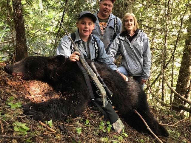 Family bear hunt