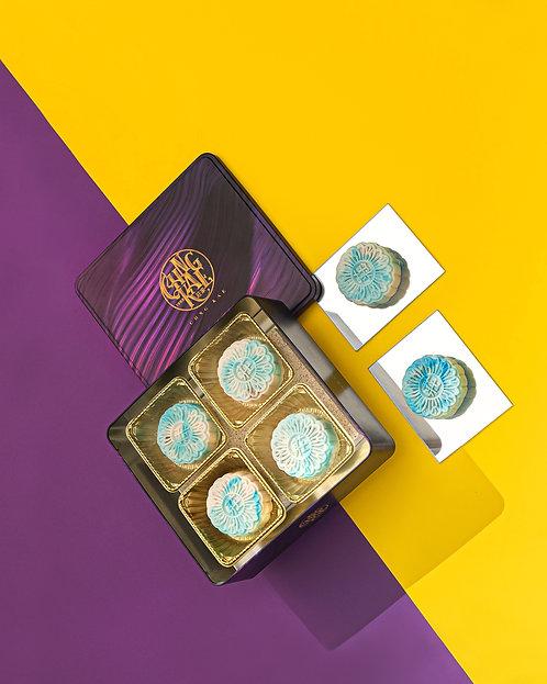 Qing Hua Mao Shan Wang Mooncakes (Box of 4)