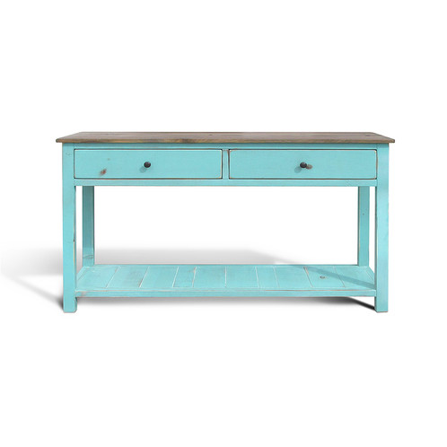 Our Cardiff Sofa/Console Table Is A Great Addition To A Playful Family Room  Setting Or A Less Formal Living Room. Shown In A Natural Patina Top And ...