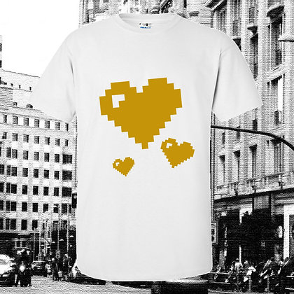 Middle Heart White