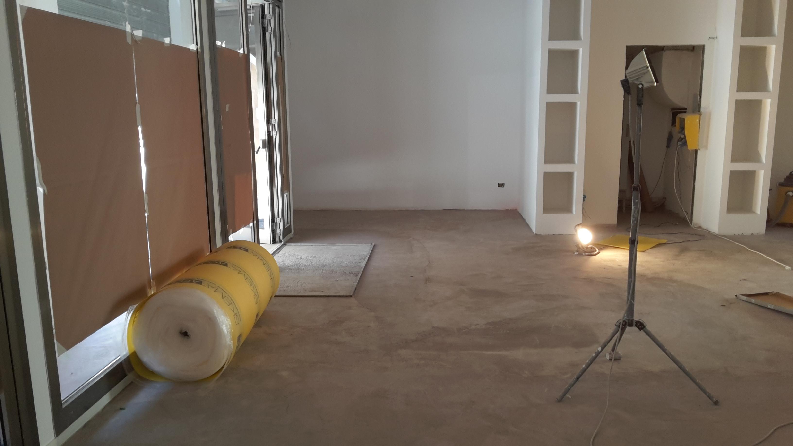 livellamento e pavimentazione