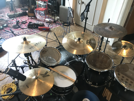 PROG ROCK DRUM SETUP