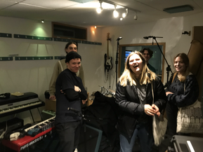 WORKING WITH JEALOUS TINA ON THEIR DEBUT E.P
