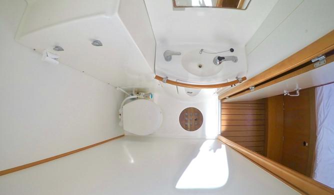 private toilets catamaran