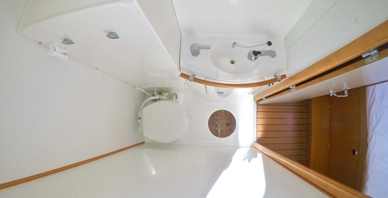 Baño privado El catamarán Eclectik 2