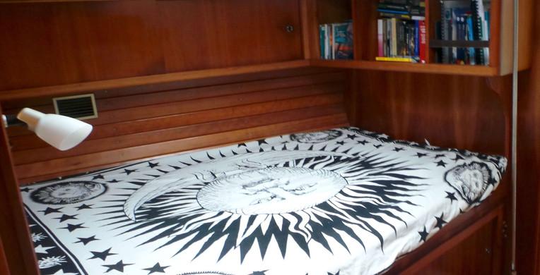 Cabine voilier finot 53 Polynesie francaise