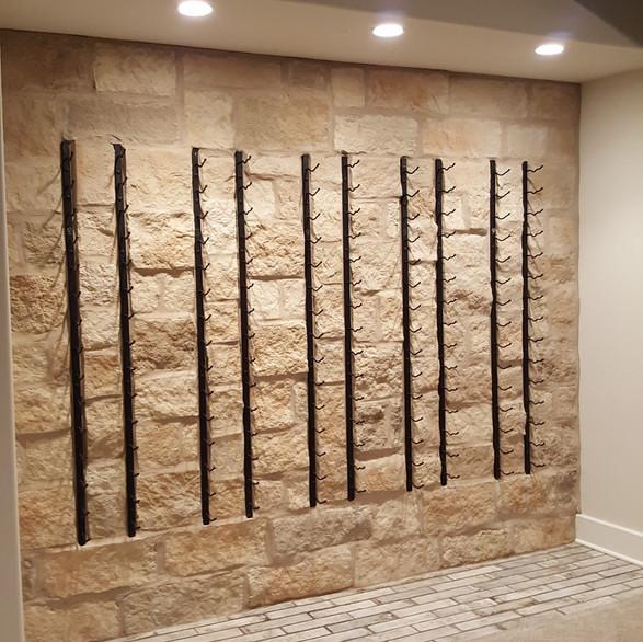 Stone wine wall