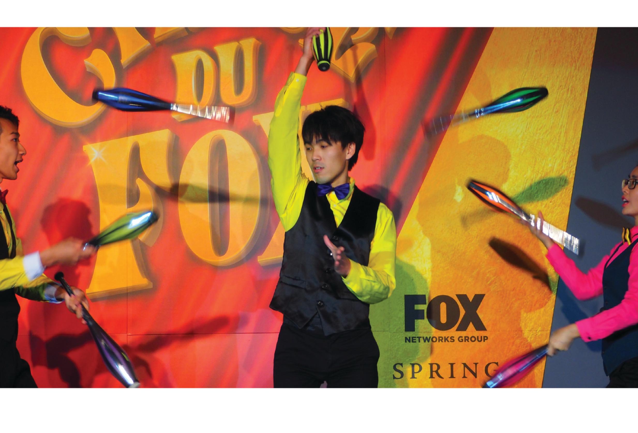 Juggling Show @CIRCUE DU FOX