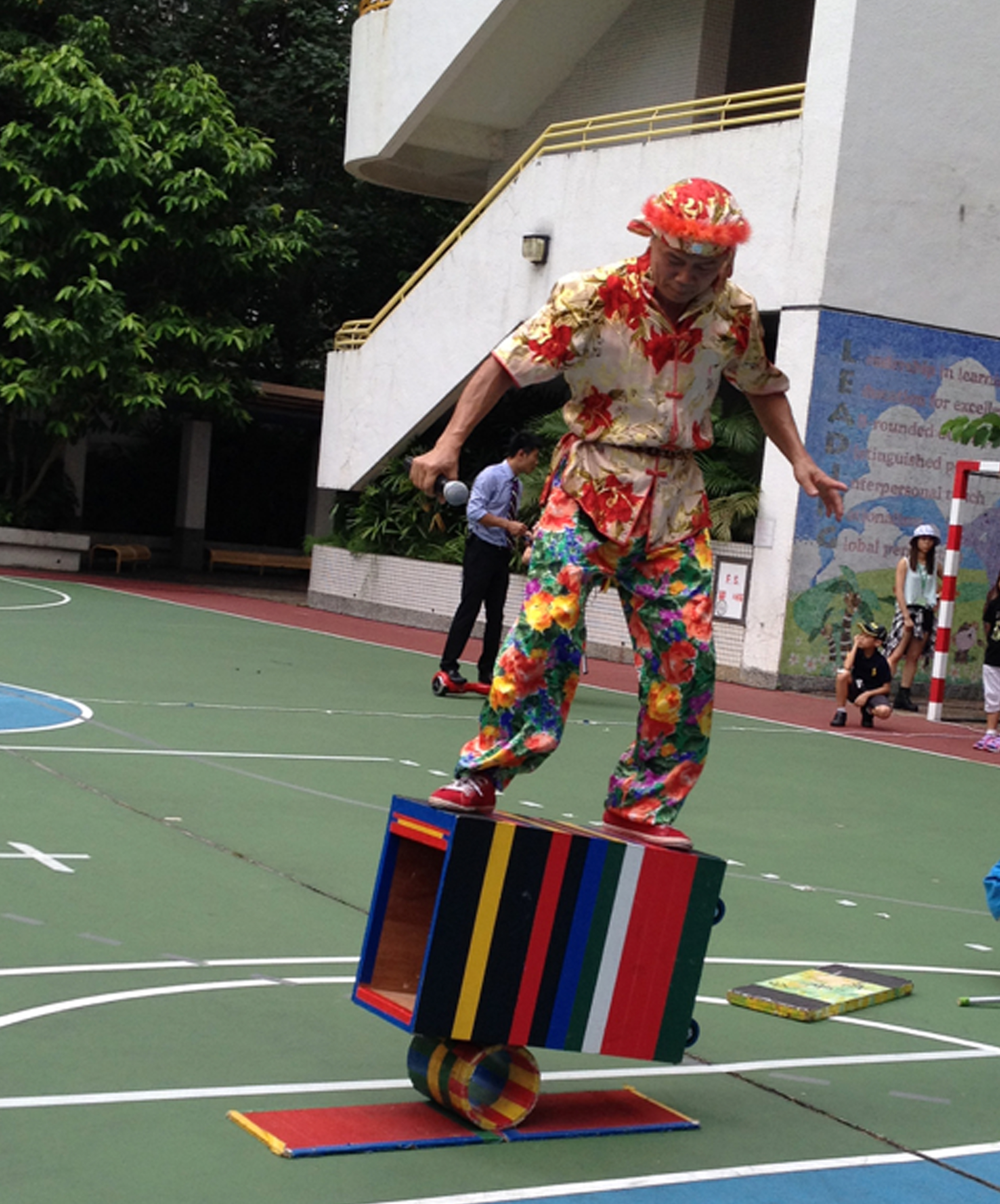 晃板 Traditional Juggling