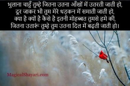 pyar-wali-shayari-hindi-bhulana-chahun-tumhe-jitna-utna-aankhon-mein