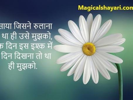 Hansaya Jisne Rulana To Tha Hi Use Mujhko, 2 Line Shayari