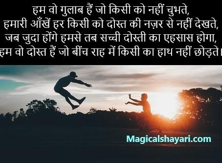 Hum Wo Gulab Hain Jo Kisi Ko Nahi, Dosti Shayari Hindi